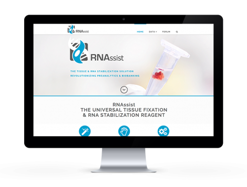 RNAssist-start-up-website-launch