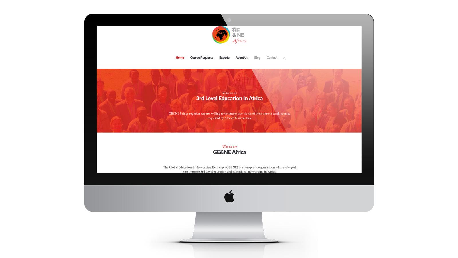 GE&NE Africa site web